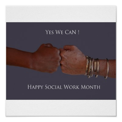 National Social Workers Month! | Dr. Sherry E. Showalter ...